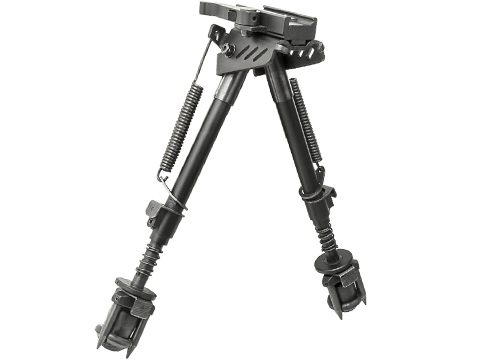 VISM KPM Folding Bipod w/ Picatinny, M-LOK, & Keymod Mounts