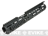 VISM by NcSTAR 13.75 Triangle M-LOK Carbine Length Hand Guard for AR15 Rifles (Color: Black)