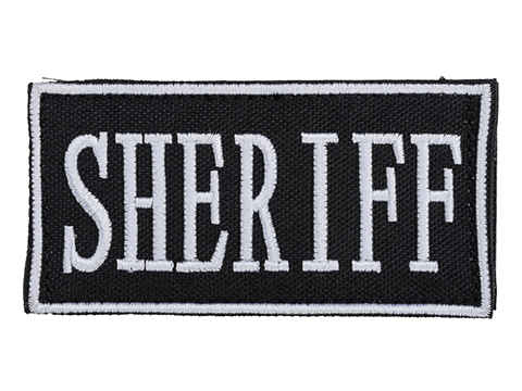 Voodoo Tactical Sheriff Embroidered Hook and Loop Morale Patch