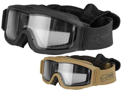 Voodoo Tactical Full Seal Tactical Goggle Kit with 3 Lenses