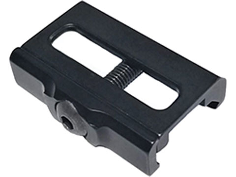 Vendetta Precision CNC Aluminum Single-Slot M-Lok to Picatinny Rail Adapter (Color: Anodized Black)