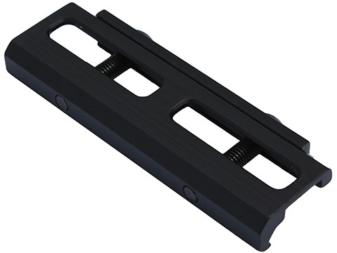 Vendetta Precision CNC Aluminum M-Lok to Picatinny Rail Adapter (Color: Anodized Black)