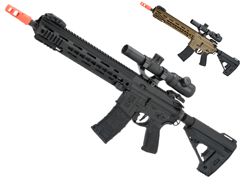 Elite Force/VFC Avalon Full Metal VR16 Calibur Carbine M4 AEG Rifle with Keymod  Handguard (Color: Black)