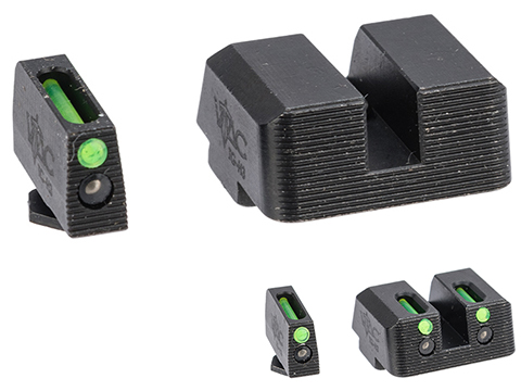 VTAC Tritium Pistol Sights for GLOCK Pistols