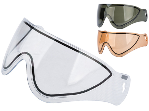WARQ Dual-Pane Lens for WARQ Helmet Systems (Color: Smoke)