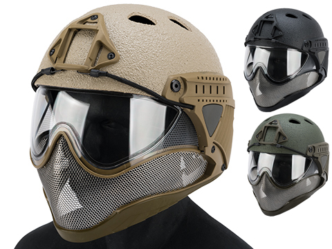 WARQ Full Face Protection Raptor Helmet System