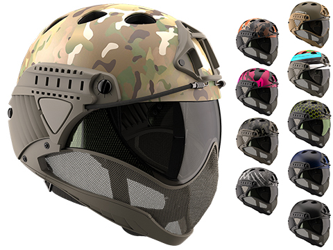 WARQ Custom Full Face Protection Helmet System