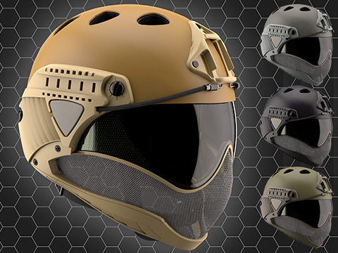 WARQ Full Face Protection Helmet System