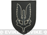 Who Dares Wins PVC Morale Patch (Color: Black)