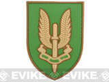 Who Dares Wins PVC Morale Patch (Color: Tan)