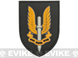 Who Dares Wins PVC Morale Patch (Color: Yellow)