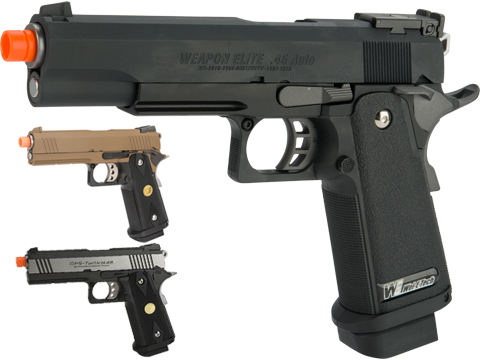 WE-USA Full Metal Hi-CAPA Airsoft Gas Blowback Pistol
