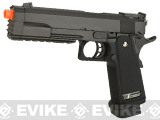 WE Full Metal 1911 Hi-CAPA Tactical Master Airsoft Gas Blowback Gun w/ Striker Head