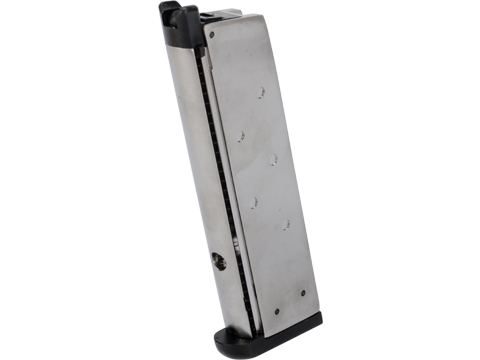 WE-Tech 16rd Magazine for WE 1911 Series Airsoft GBB Pistols (Color: Silver)