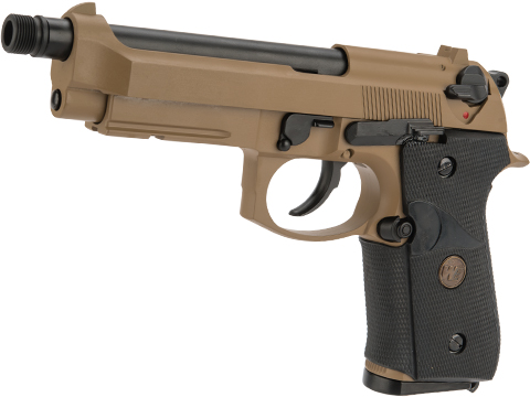 WE-Tech M9A1 Full Metal Gas Blowback Pistol (Color: Desert)