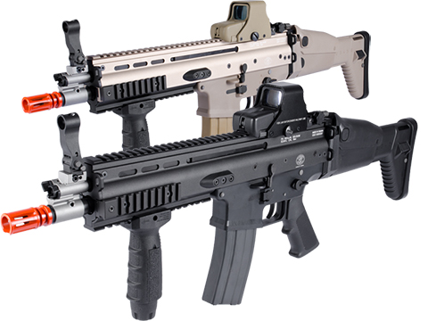 FN Licensed Open Bolt SCAR-L CQC Airsoft GBB Rifle by WE