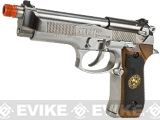 WE-Tech Custom Samurai Edge Biohazard M9 Airsoft Gas Blowback (Color: Chrome)