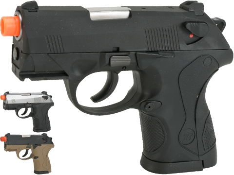 Bulldog Compact Airsoft Gas Blowback GBB Pistol by WE