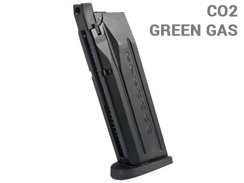 We-Tech 22rd Magazine for Big Bird Series Airsoft GBB Pistols (Gas: Green Gas)