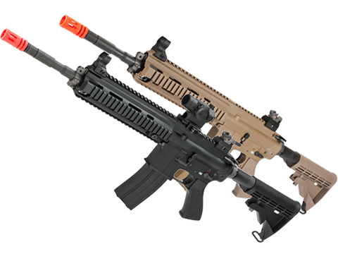 WE-Tech Open Bolt M4-SOL Carbine Airsoft GBB Rifle (Color: Black)