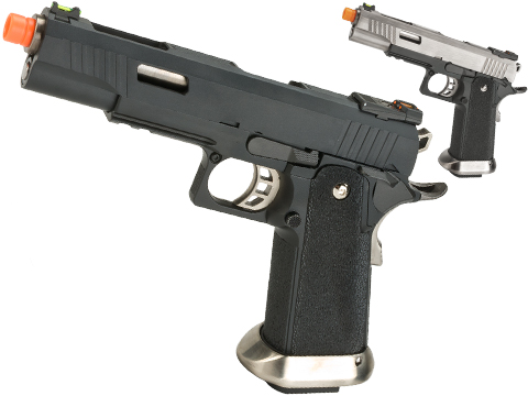 (NEW YEAR'S EPIC DEAL!!!) WE-Tech Hi-Capa T-Rex Competition Pistol (Model: 5.1 / Black)