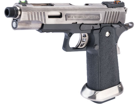 WE-Tech Hi-Capa T-Rex Competition Pistol (Model: 5.1 / Silver)