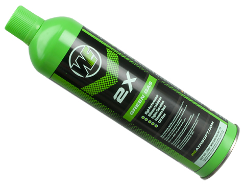 Airsoft Premium 2X High Performance Gas 10.5oz by WE