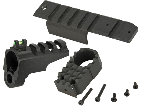 WE-Tech Front Sight for Dragon / CQB Master Alpha Series Airsoft GBB Pistols-Black A Version