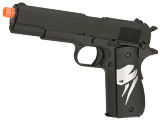 Evike.com Class I Custom Viper WE-Tech 1911A1 Gas Blowback Airsoft Pistol - Black