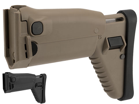 WE-Tech / FN SCAR-L Gas Blowback Stock Assembly