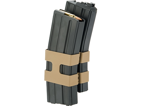 WE-Tech M4 / M16 Open Bolt 80rd Green Gas High Capacity Double Magazine for GBB Rifles