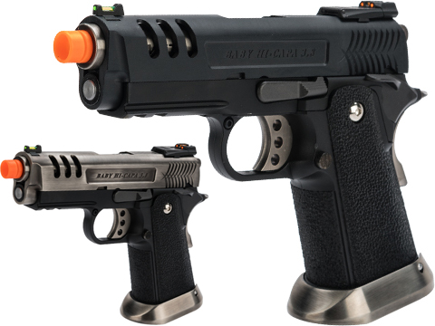 WE-Tech Hi-Capa 3.8 Deinonychus Gas Blowback Pistol (Color: Black)