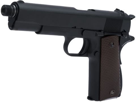 WE-Tech Latest Gen2 Full Metal 1911 GI Full Size Airsoft GBB Pistol (Color: Black / Gas)