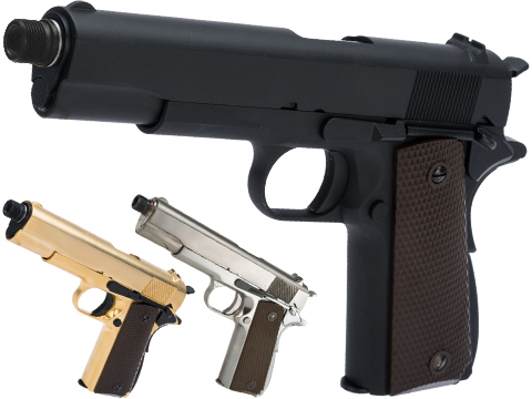 WE-Tech Latest Gen2 Full Metal 1911 GI Full Size Airsoft GBB Pistol