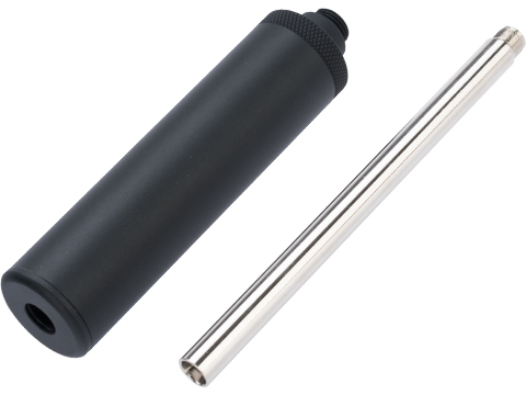 WE-Tech OEM Mock Silencer w/ Steel Inner Barrel Extension for Russian PMM GBB Pistols