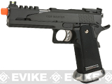 "Phantom Custom WE USA ""CQB Master Alpha"" Airsoft GBB Gas Blowback Pistol w/ Two Mags - (Package: Pistol)"