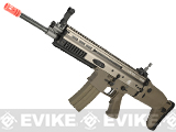 z FN Herstal Full Metal SCAR MK16 Carbine Full Metal Airsoft AEG Rifle by WE-Tech - Tan