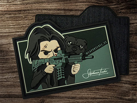 Weaponsfree.US Mr. Wick Special Edition Tactical PVC Morale Patch