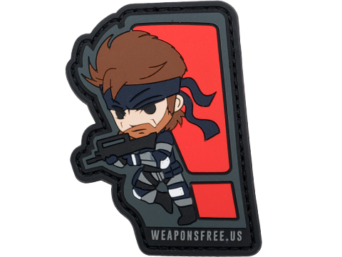 Weaponsfree.US Solid Snake Tactical PVC Morale Patch