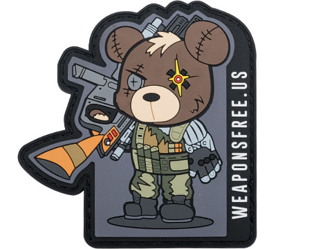 Weaponsfree.US Tactical Teddy Cable Tactical PVC Morale Patch