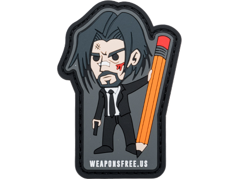 Weaponsfree.US Mr. Wick Tactical PVC Morale Patch