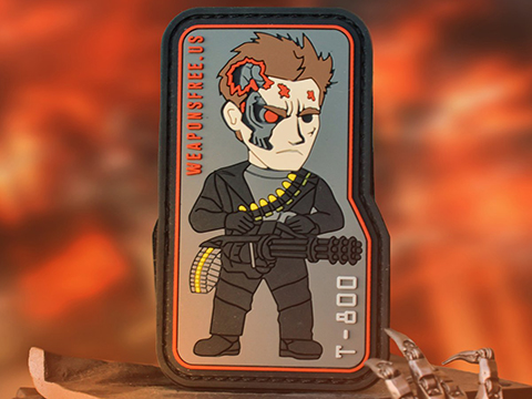 Weaponsfree.US T-800 Tactical PVC Morale Patch