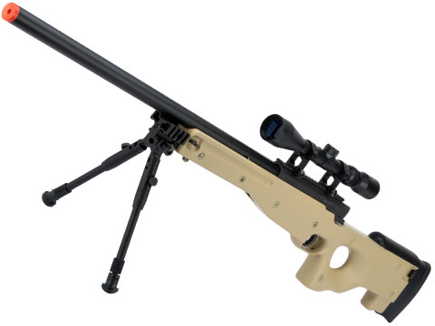 Shadow Op MB01 Type96 MK96 APS-2 Airsoft Bolt Action Sniper Rifle (Color: Desert Tan / Add 3-9x40 Scope)