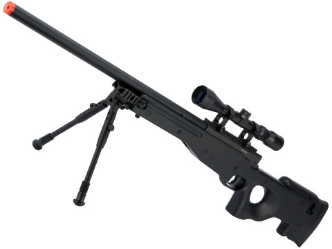 Shadow Op MB01 Type96 MK96 APS-2 Airsoft Bolt Action Sniper Rifle (Color: Black / Add 3-9x40 Scope)