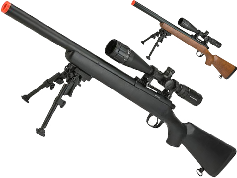 WELL MB02 Bolt Action Sniper Rifle (Color: Black)