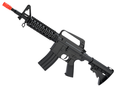 WELL Spring Powered M4 RIS Airsoft Rifle