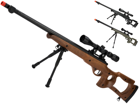 Matrix VSR10 MB09 Airsoft Bolt Action Sniper Rifle by WELL