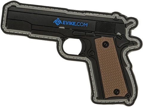 Evike.com Armory Collection PVC Morale Patch (Model: 1911)