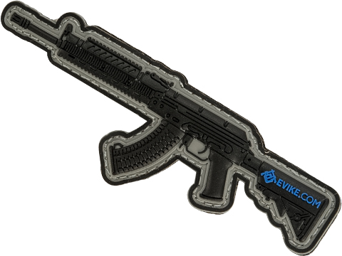 Evike.com Armory Collection PVC Morale Patch (Model: AK47 RIS)