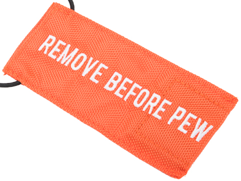 Evike.com Remove Before Pew Tactical Airsoft Barrel Cover (Color: Orange / Standard)